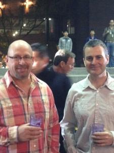 Rob and Brian Friday night 2