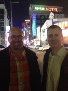 Rob and Brian Friday night