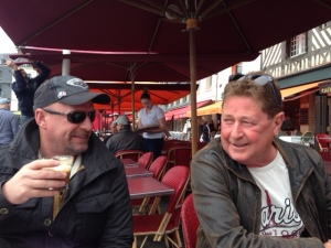 Rob and Bert Honfleur