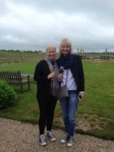 Us at winery