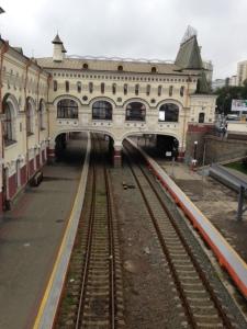 Railway station external